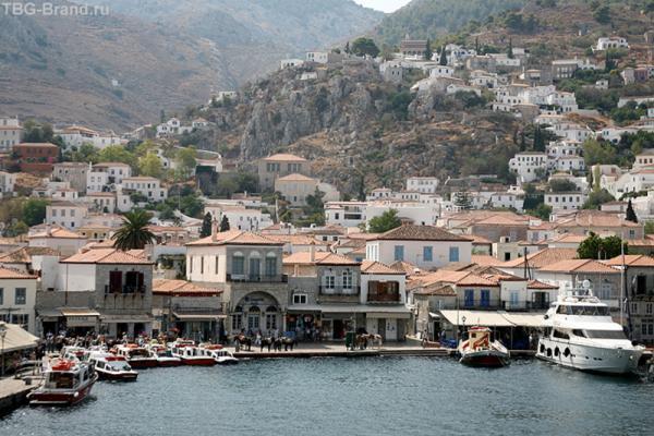 Остров Гидра. Его очень любят художники. Здесь открыт факультет изобразительных искусств Афинского Политехнического института.