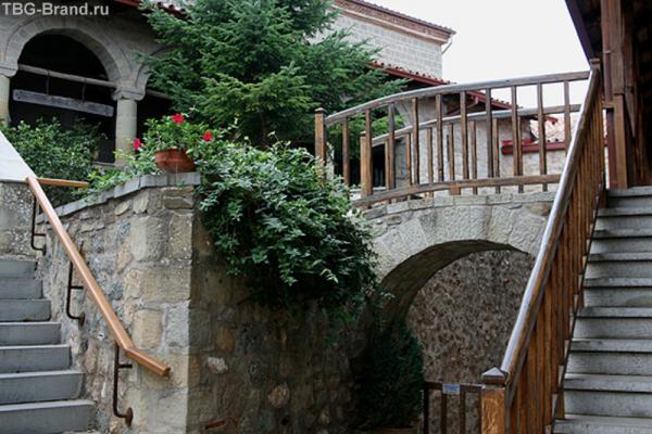 Внутренний дворик женского монастыря.