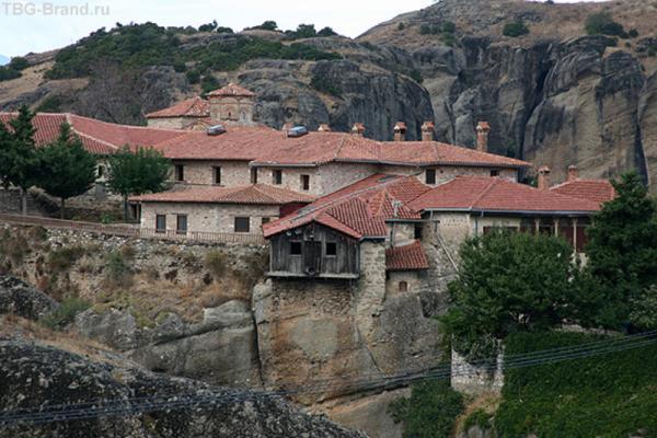 Заброшенный монастырь.