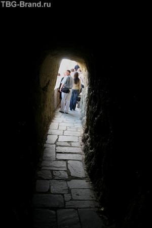 Такова дорога в Преображенский монастырь.