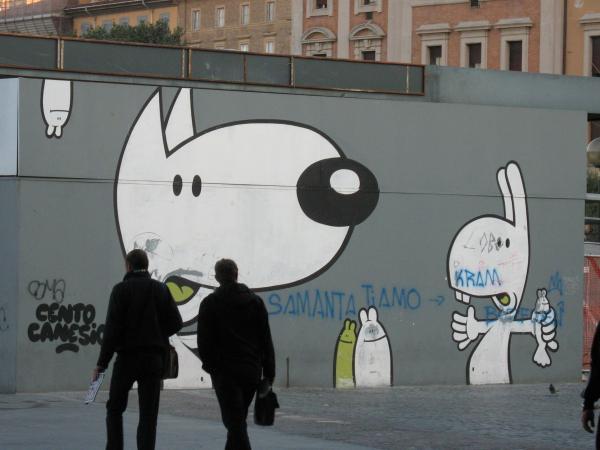 Рим. Ж/д вокзал