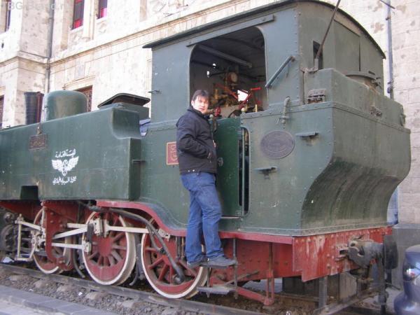 100 лет паровозу на дамасском вокзале