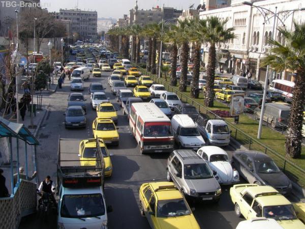 Пробки в Дамаске
