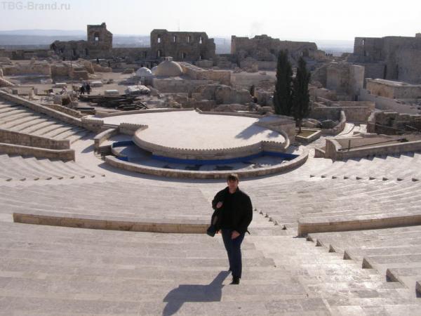 Амфитеатр в Алеппо
