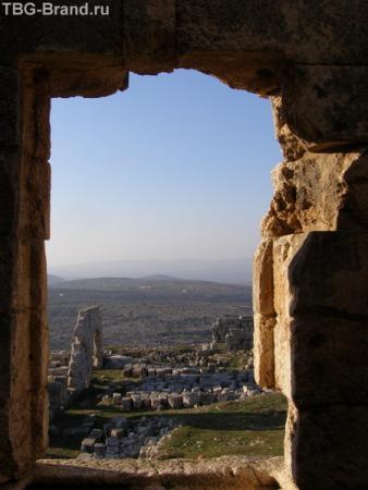 Развалины монастыря Св.Синеона Столпника