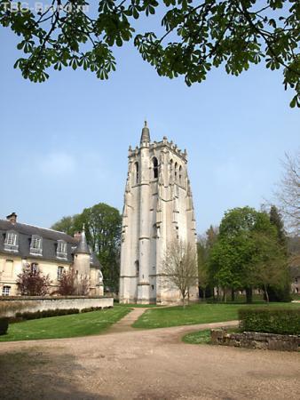 Башня cв. Николая (Tour St. Nicolas), Notre-Dame du Bec-Hellouin