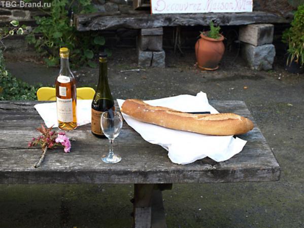 Кальвадос, помо и хлеб