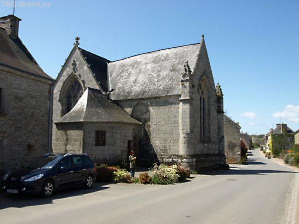 Церковь св. Иоанна Крестителя в деревне Горвелло