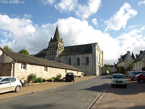 Церковь Нотр-Дам де Кюно (Notre-Dame de Cunault)