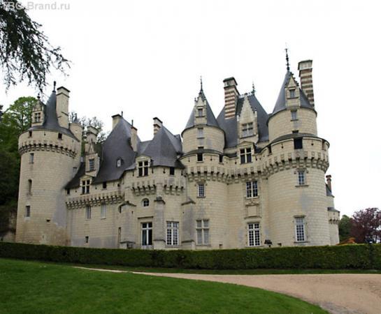 Château d′Ussé, val de Loire