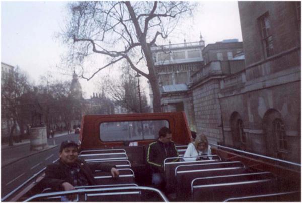 Классический английский автобус