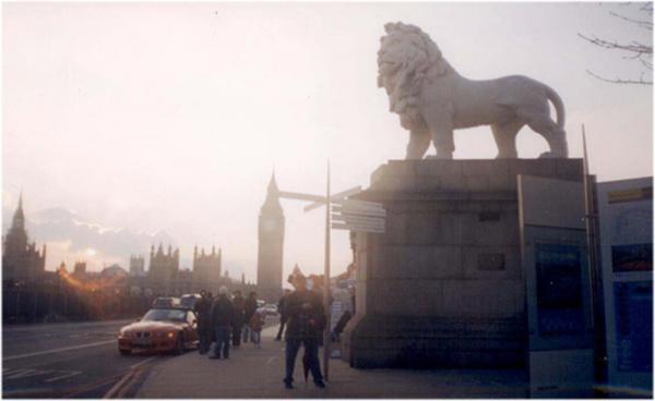 Вечный символ Англии (львица, которая гуляет сама по себе =)