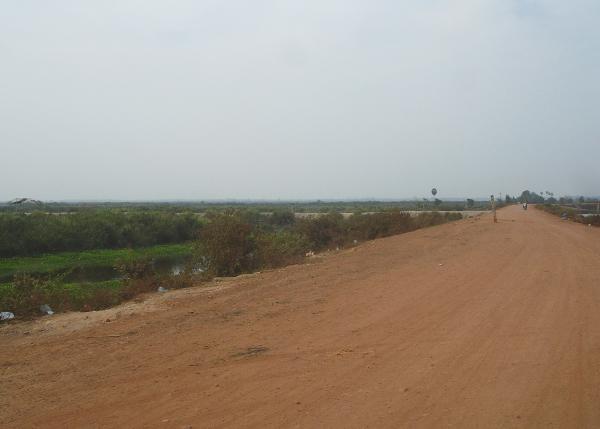 Дорога к озеру Тонлесап