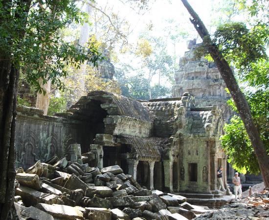 Камбоджа. Древний Та Пром.