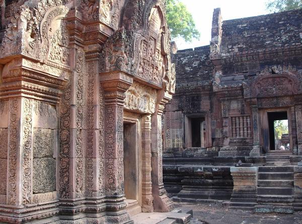 Камбоджа. Храм Бантей Срей.