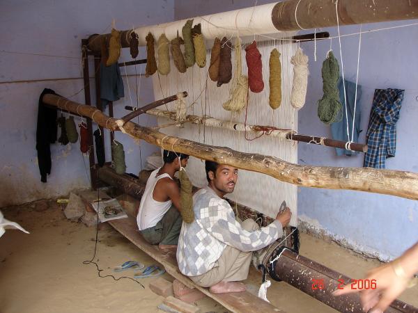 На фабрике ковров