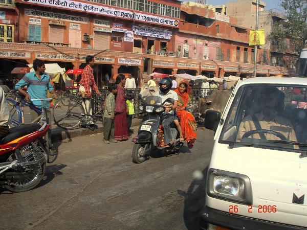 На улицах Джайпура
