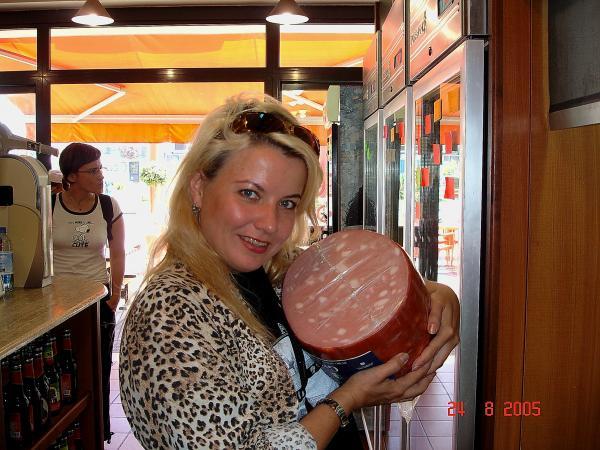 Хороша итальянская колбаска!