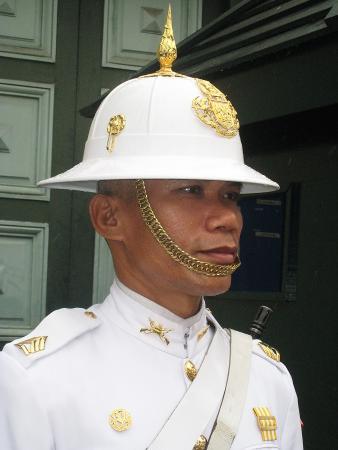Таиланд. Королевская стража.