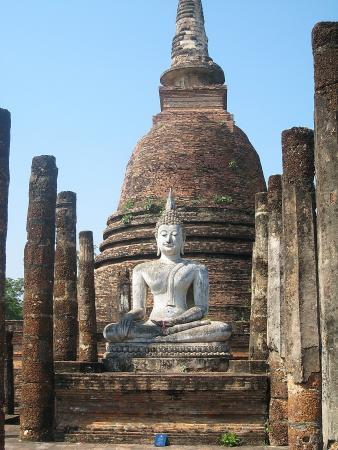Таиланд. Сукхотай. Будда.