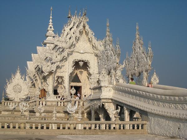 Таиланд. Белый храм.