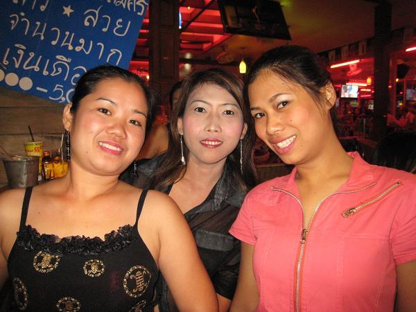 Таиланд. Ночные красавицы.