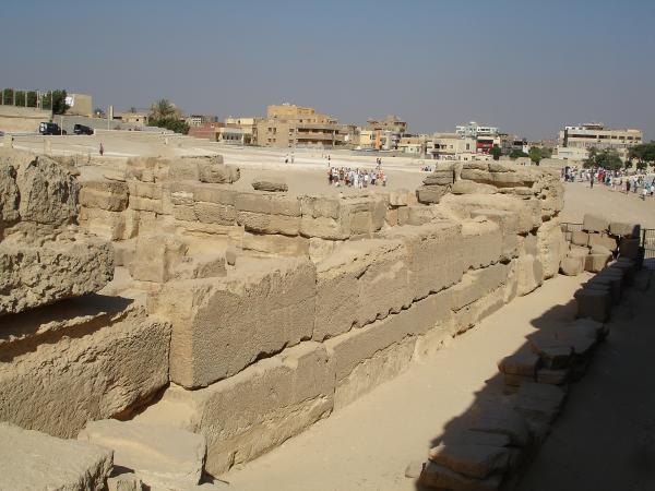 Развалины храма Сфинкса