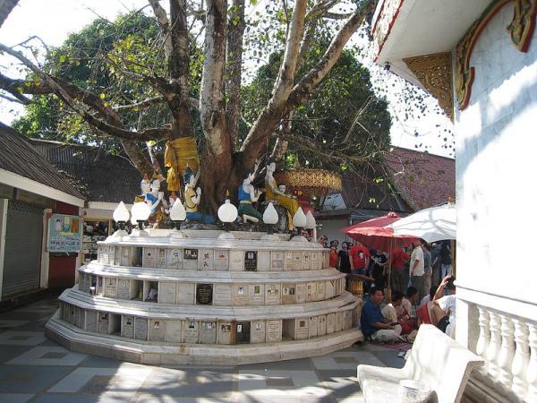 Погребения в храме.