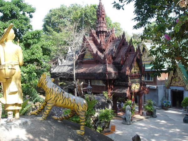 Храм над следом Будды