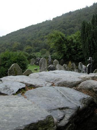Вид на кладбище