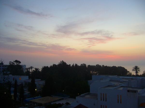 восход над Суссом