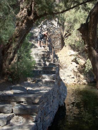 Лестница к озеру