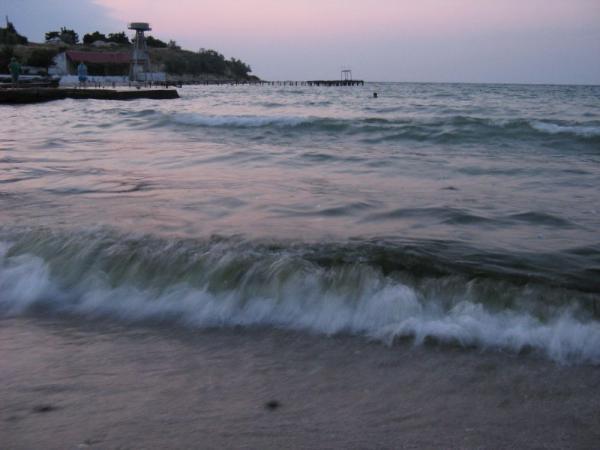 вечернее море...