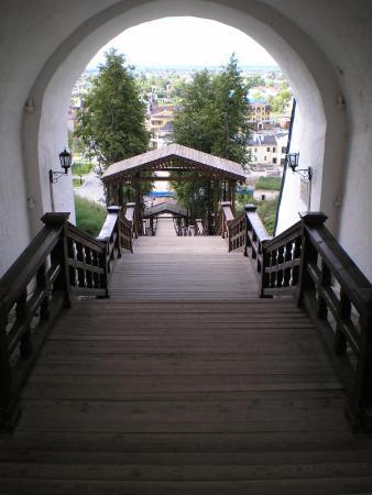 Лестница в нижний город