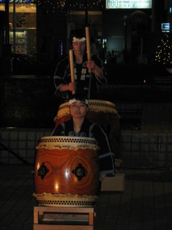 Японские барабанщики