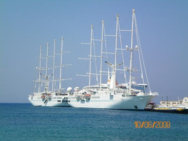 Порт г. Родос