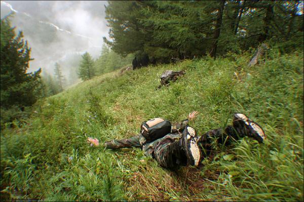 Алтайский лётчег или как мы с гор спускались :)