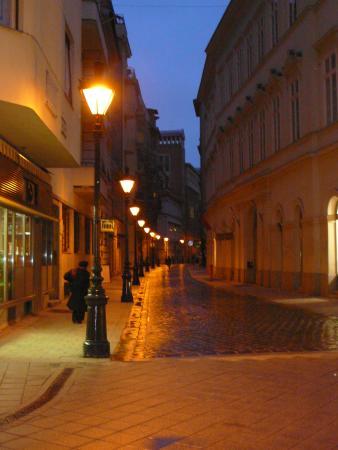 Vaci utca  - венгерский Старый Арбат))