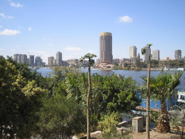 Каир, набережная Нила