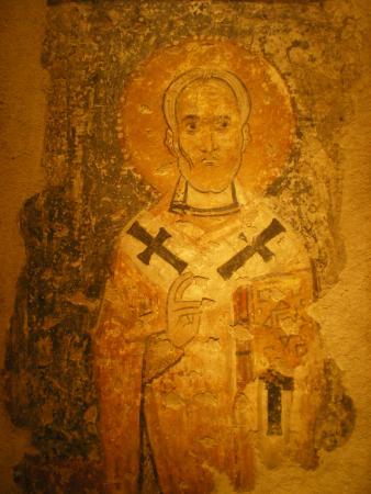 Фреска из Византийского музея