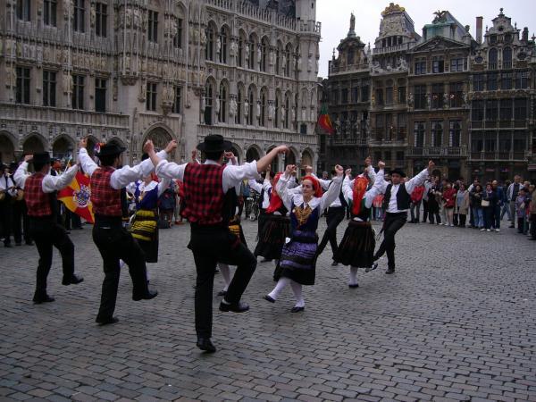 Португальские пляски в столице Европы