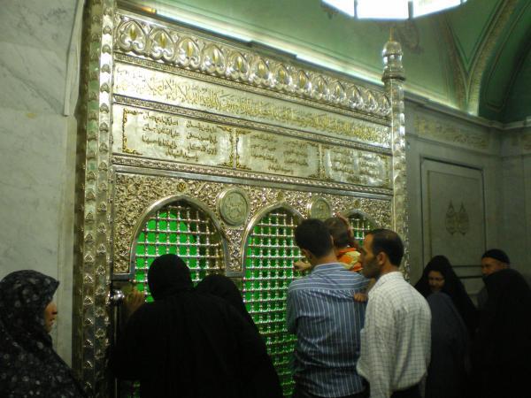 В мечети Омейядов в Дамаске