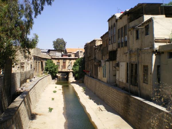 Река Барада (Холодная) в Дамаске