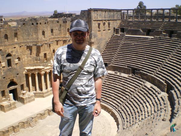 Дух захватывает! Амфитеатр в Босре