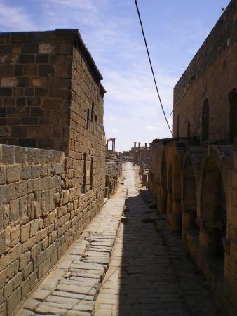 Улица в Босре