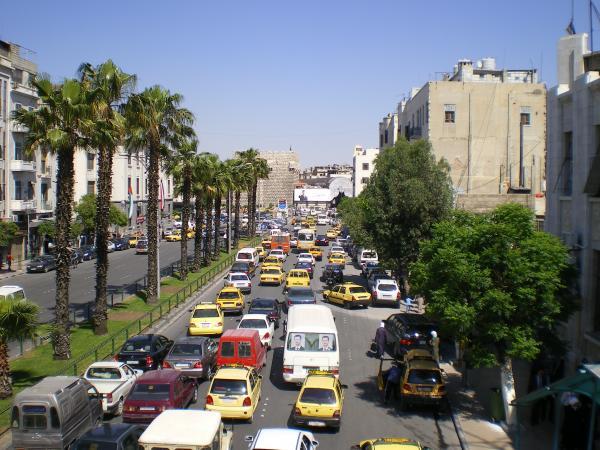 Центральная улица Дамаска