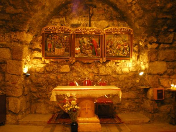 В церкви святого Анании