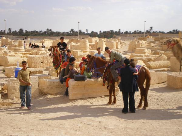 Местные жители Пальмиры