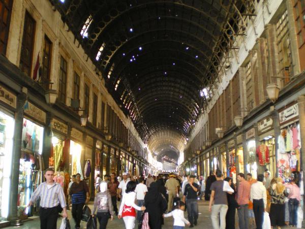 Хамидие - самый большой крытый рынок в Дамаске