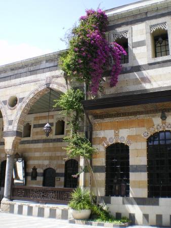 Во дворце Азема в Дамаске